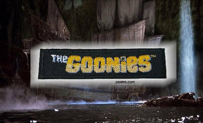 The Goonies 80s Movie Retro Vintage Style Punk Iron on Patch Applique USA NEW - The 80's Style