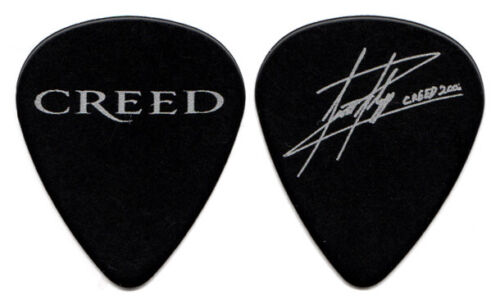 CREED Guitar Pick : 2003 Tour Scott Stapp Signature Black
