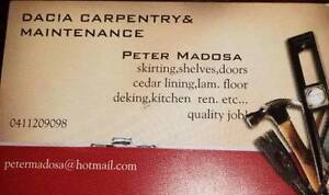 Dacia carpentry & maintenance Landsdale Wanneroo Area Preview