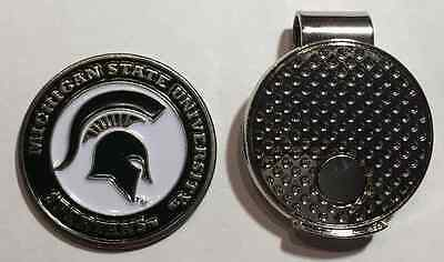 NCAA Michigan State Spartans Magnetic Hat Clip Golf Ball Marker