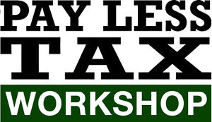Pay Less Tax Workshop, September 17th,2016