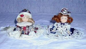 Porcelain Doll with 2 Bears in pocket .. Excellent Condition .. Cambridge Kitchener Area image 4