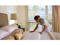 Housekeeping/Cleaning position, experience required