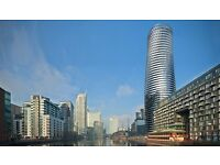 Studio flat in Baltimore Tower, Crossharbour Plaza, Isle of Dogs