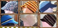 Custom Hand Knit Headwear / Hats Ball Caps, Berets, Beanies plus