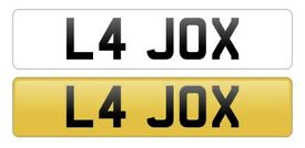L4 JOX - On Retention - Cherished / Private number plates