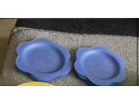 Set of 8 Plastic Plates