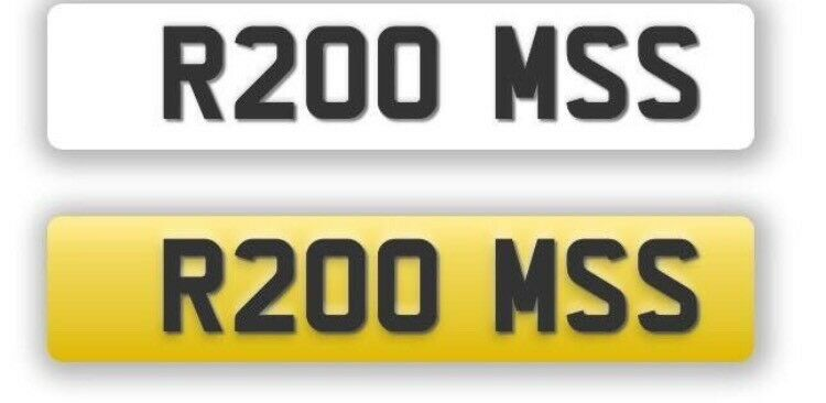 Personalised registration- R200 MSS