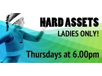 The Most Popular Ladies Only Fitness Class in Barnsley! Hard Assets every Thursday at 6pm in Carlton
