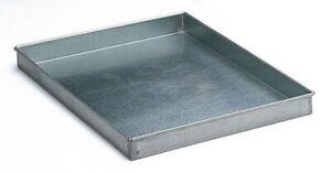 Zinc metal drip trays