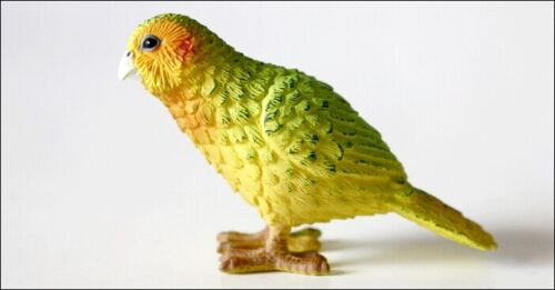 NEW SCIENCE & NATURE New Zealand Kakapo Bird Plastic Model