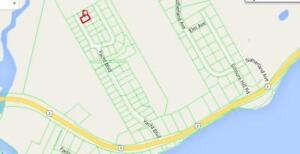 Building lot in upscale residential area just east of Cornwall