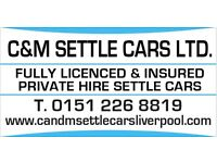 Welcome to C & M Settle Cars Liverpool LTD