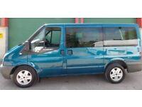 Ford transit tourneo mini bus rare 9 seats full extras