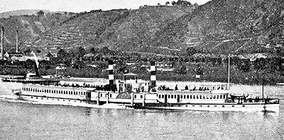 Dampfschiffahrts-G. Düsseldorf Aktie 1922 KD Deutsche Rhein Schifffahrt Köln NRW