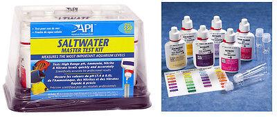 API SALTWATER MASTER TEST KIT 550-Test Saltwater Aquarium Wa