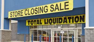 Buying Excess Inventory, Store Closings, Bulk Lots Liquidation