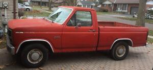 1983 Ford f100 shirt box (Virginia truck)