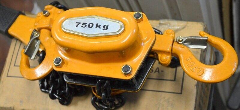 Chain Lever Hoist Ratchet 3/4 ton, 5