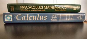 GARAGE Sale- TextBooks:Calculus, Economics, Statistics