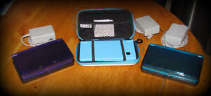 Nintendo 1x 3DS, 1x DSi consoles and games