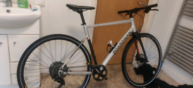 Boardman hybrid 2021 bike 8.8 beast carbon fiber fork. BARGAIN