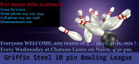 Looking for a bowling league?