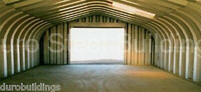 Durospan Steel 20x35x16 Metal Garage Kit Open Ends Building Factory Direct