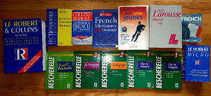 Books - School Dictionaries, English, French (only 11 left)