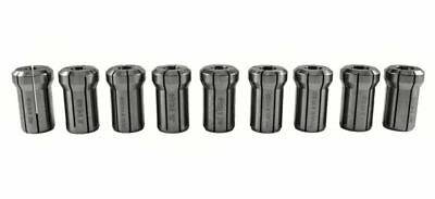 9 Piece Da180 Double Angle Collet Kit 2364-3164
