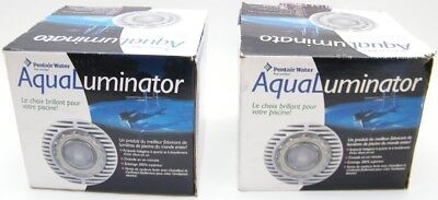 2 Pentair AquaLuminator 2000 Above Ground Pool Light 98600000 halogen