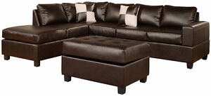 New sectional with ottoman only $798 in stock we deliver