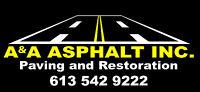 A & A Asphalt needs Welding/Driver/ Mechanical back ground