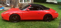 2000 Porsche Carrera 4 Convertible all wheel drive with hard top