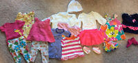0-3 month old baby girl clothing -16 items for $20 -Gymboree, Ca