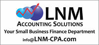 Your small business finance department