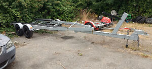 23 FOOT BOAT TRAILER FOR A 22 FOOT REINELL