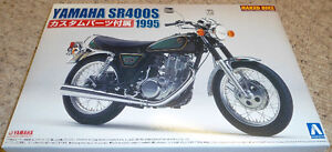 Aoshima 1/12 Yamaha SR400S Custom 1995 model