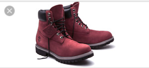 Timberland boots Bordeaux Neuf!!