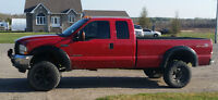 "2003 Ford F-350 Lariat FX4 Pickup Truck - 4"" Lift"