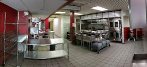 Cuisine commerciale à louer / commercial kitchen for rent