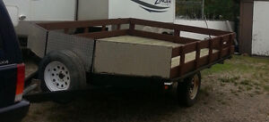 Snowmobile/ATV utility trailer