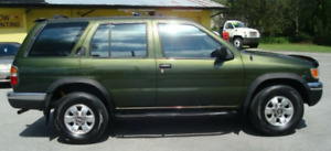 WANTED: 1997, 98 or 99 Nissan Pathfinder Green or Black