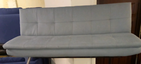 Grey sofa bed only £50. No Legs ex display. RBW Clearance Outlet Leice