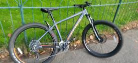 Carrera vendetta fat wheel bike for sale. 27.5*2.8 med frame. new
