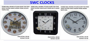 Clocks and Clock Parts for SALE!
