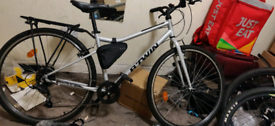 btwin hybrid bike for sale beautiful condition
