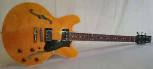 Heritage H535 semi hollow guitar - as new