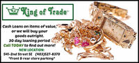 Cash Loans at King of Trade!