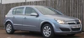 **FSH AUTO** Vauxhall Astra 1.8i 16v auto 2006 Club ( MOT 10/17)
